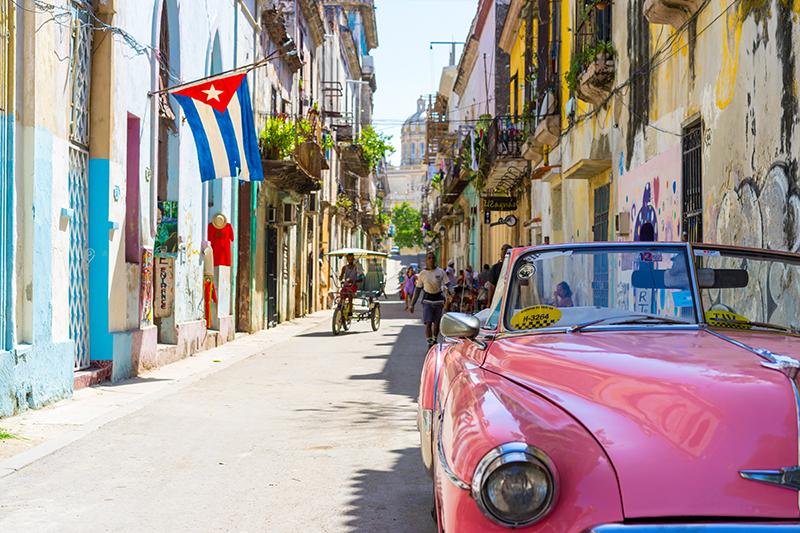 voyage à cuba avec chauffeur francophone