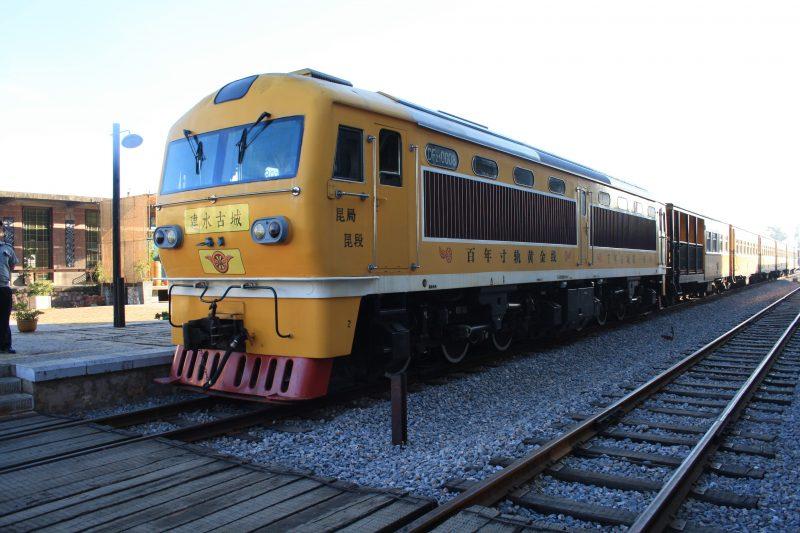 Balade en train de Tuanshan à Jianshui
