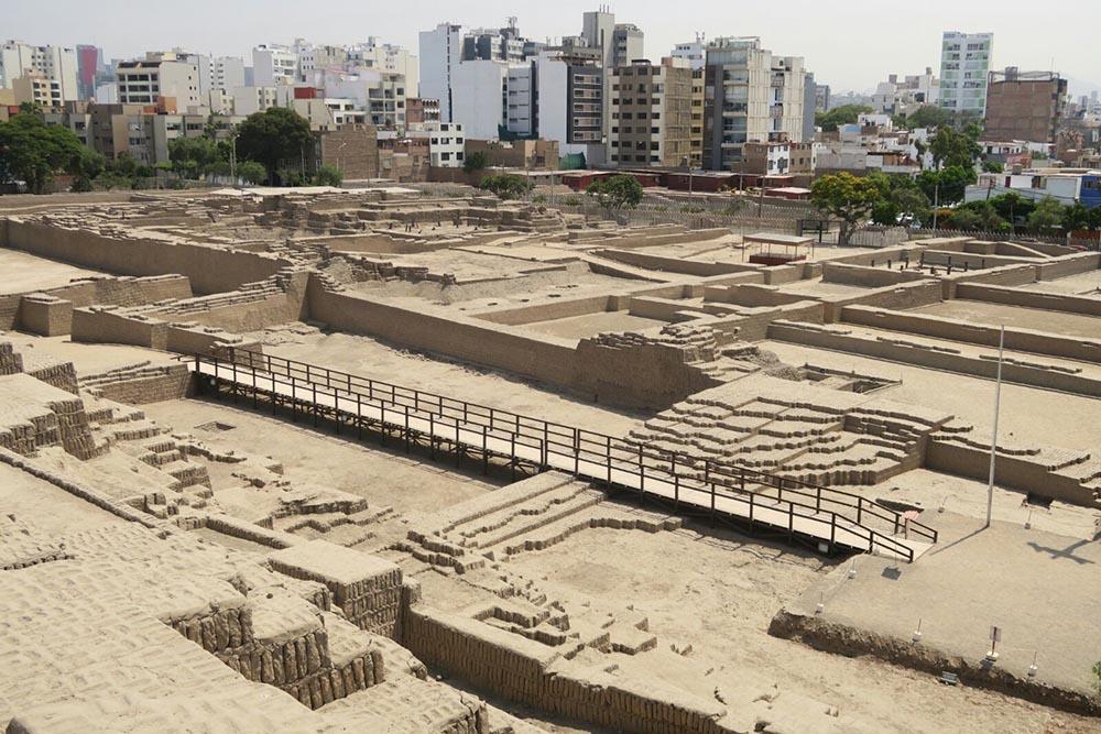 huaca pucclana site archéologique pérou lima