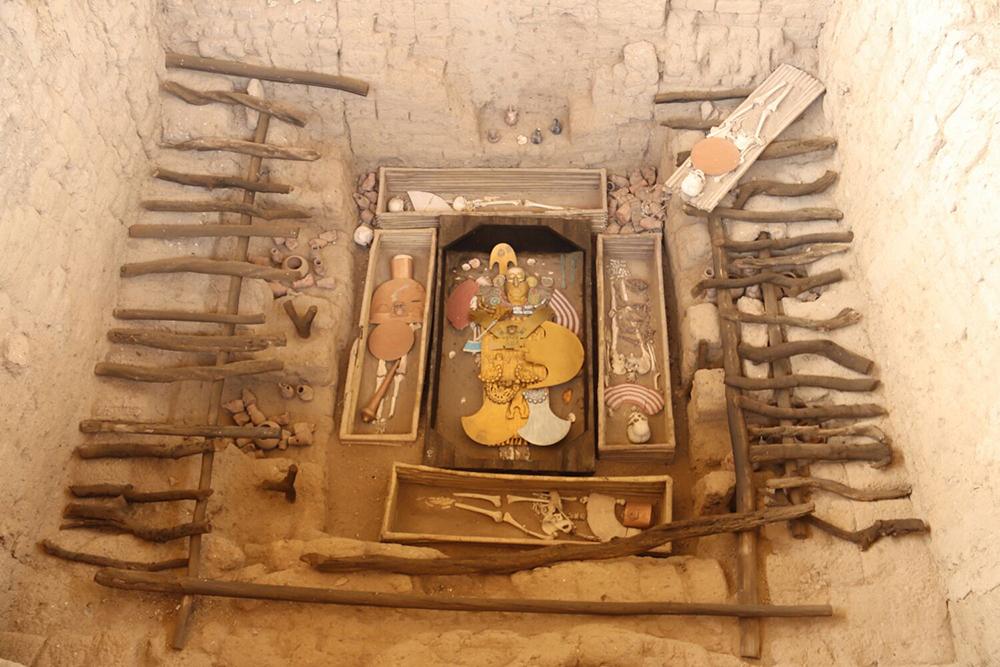 huaca rajada, tombeau seigneur sipan