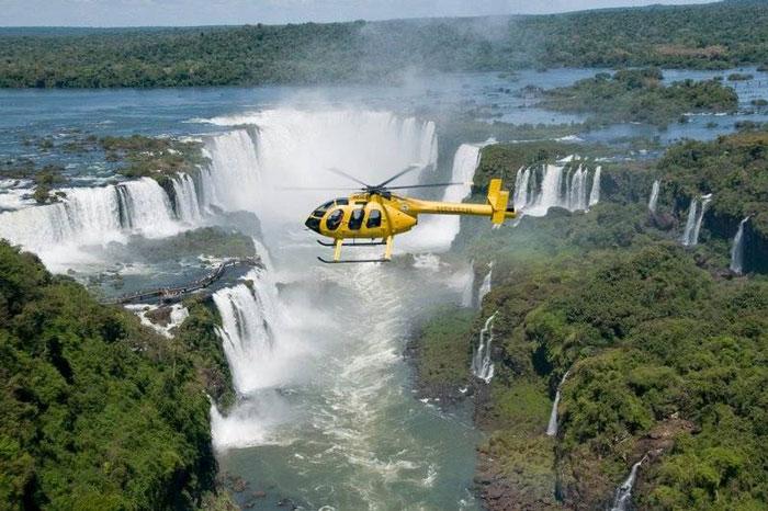 chutes igazu helicoptere