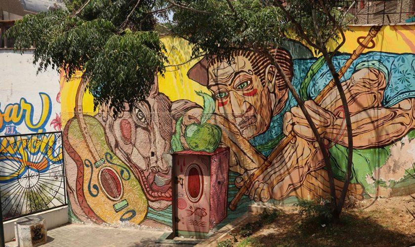 fresques du quartier Baranco-3