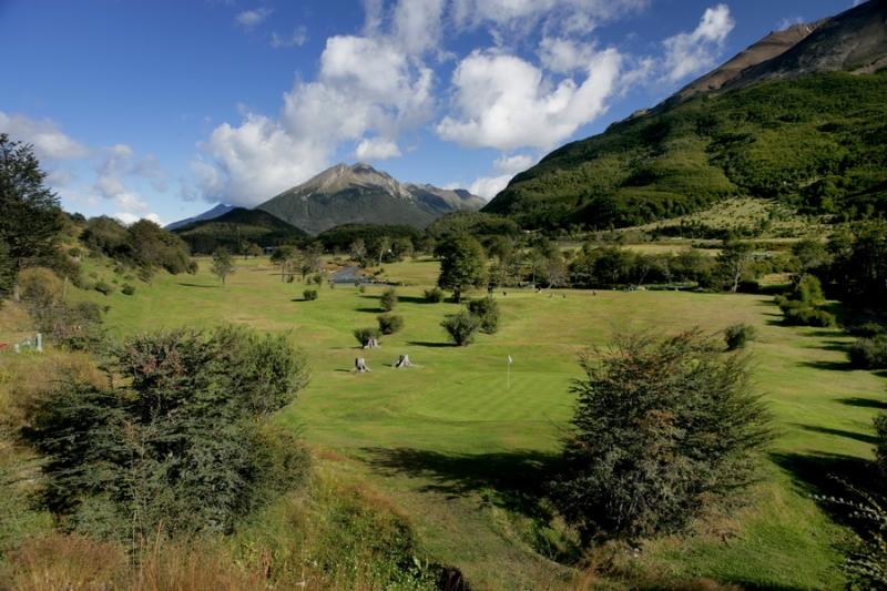 golf Ushuaia patagonie argentine