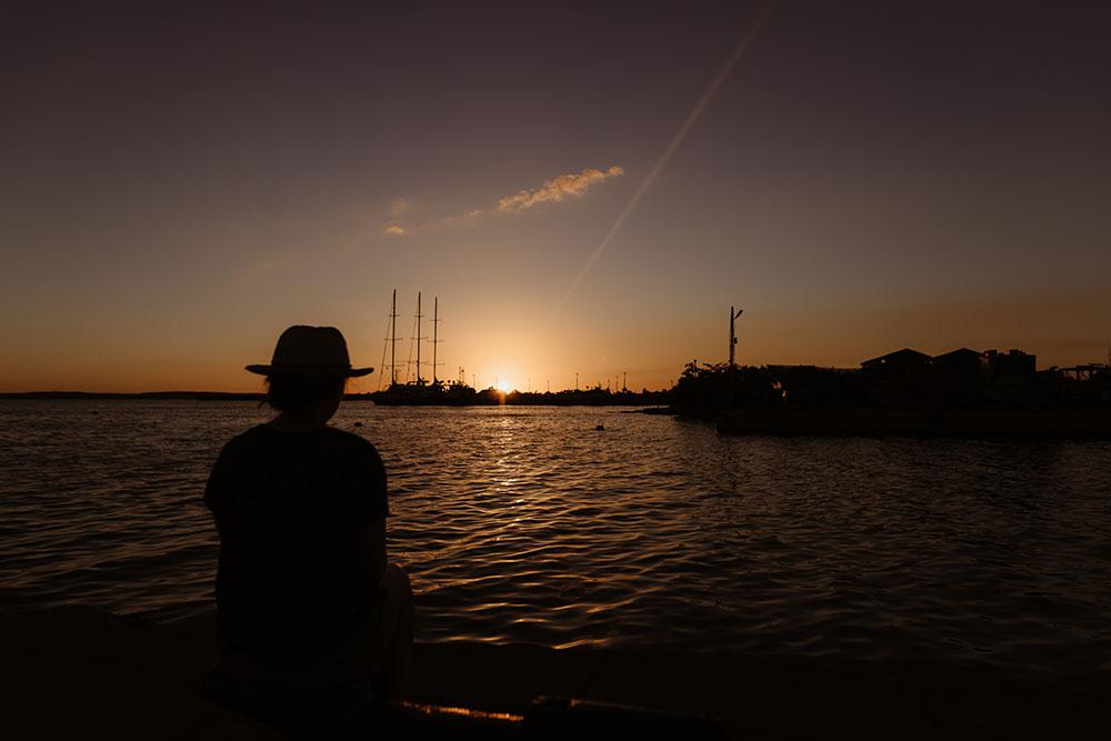 coucher soleil cuba