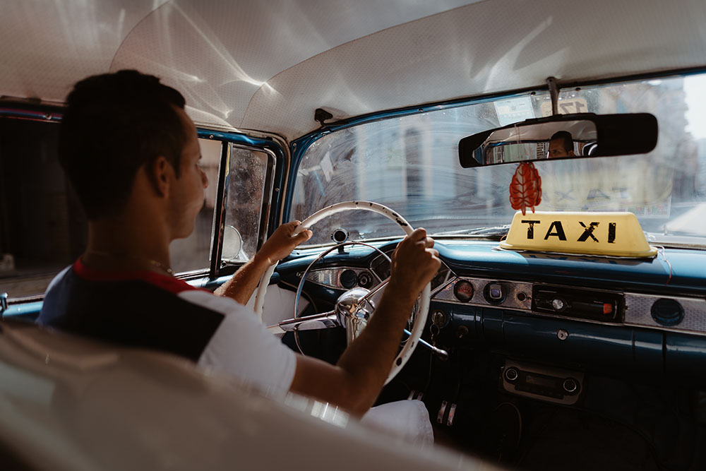 taxi la havane voiture avec chauffeur francophone