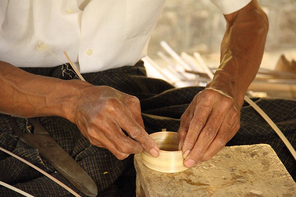 fabrique laque birmanie voyage sur mesure