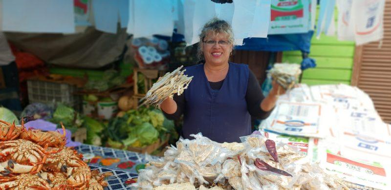 Marché d'Arauco au Chili