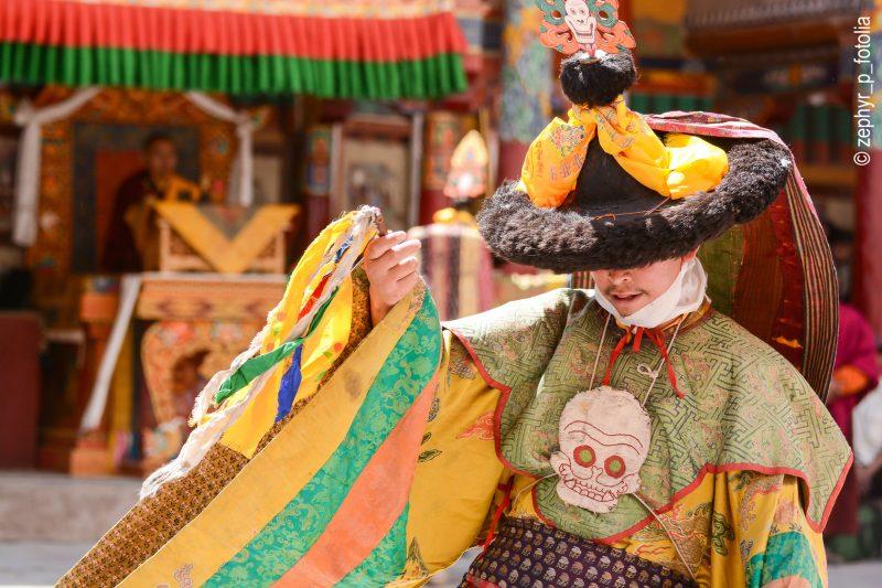 Le festival d'Hemis au Ladakh