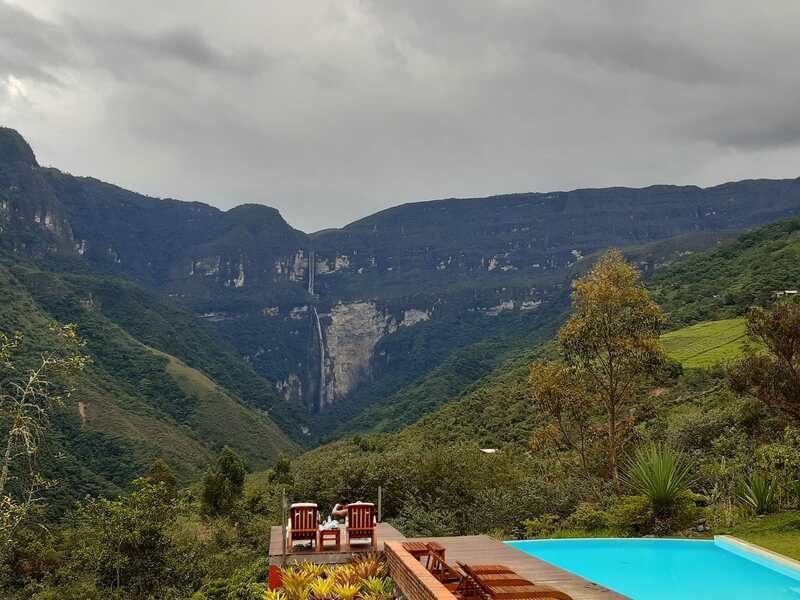 Casacade Gocta, région Amazonas, Pérou