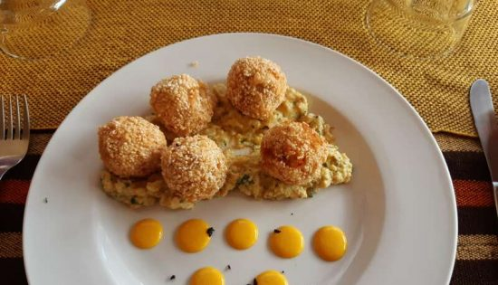 Croquettas de Quinoa