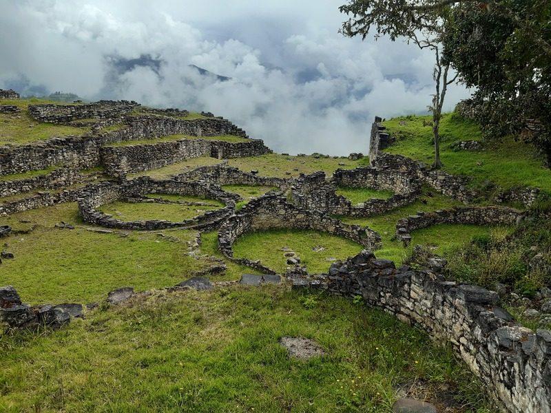 La cité fortifiée de Kuelap, région Amazonas, Pérou