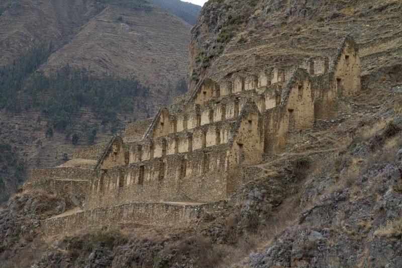 Forteresse Ollantaytambo au Pérou