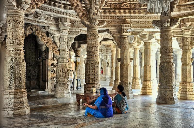 Temple jain Dzinijska Inde