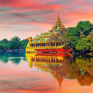 Top 4 des sites incontournables au Myanmar