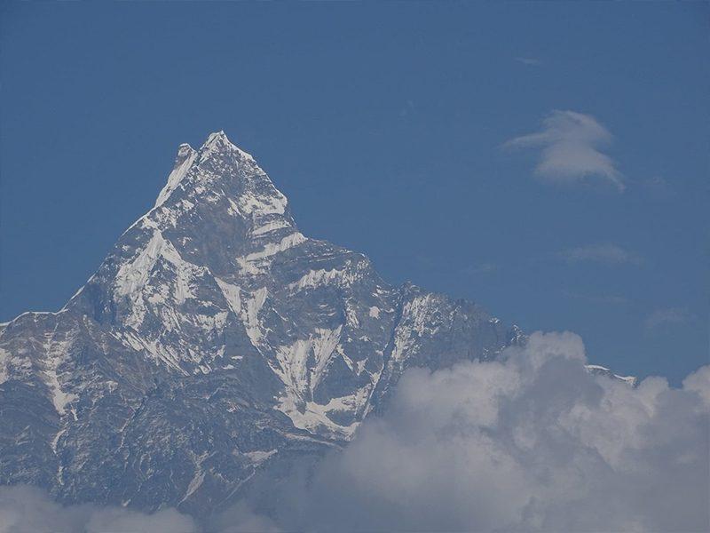 Le Machhapuchhare, montagne sacrée népalaise