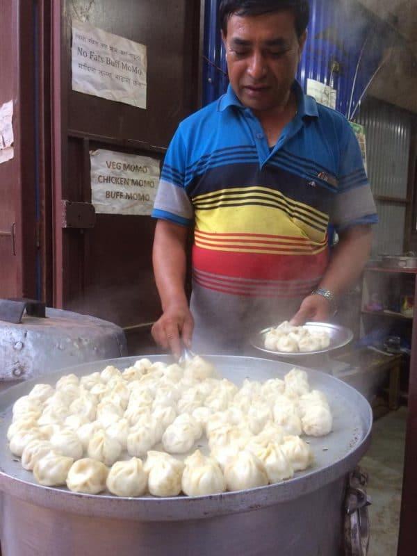 Momos, spécialités culinaires du Népal