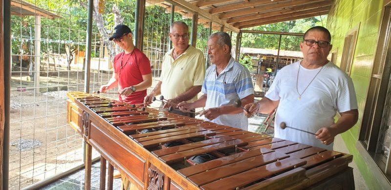 Marimba instrument costa rica