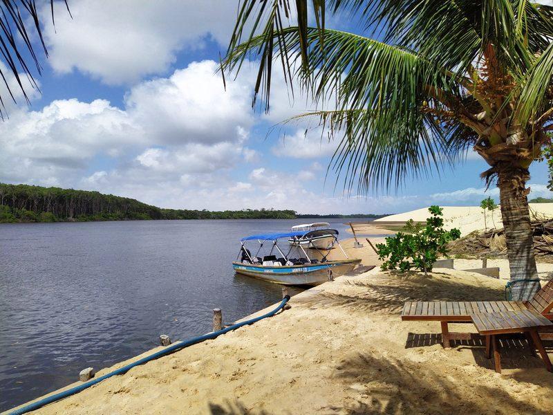 Rio Preguiças Brésil Nordeste