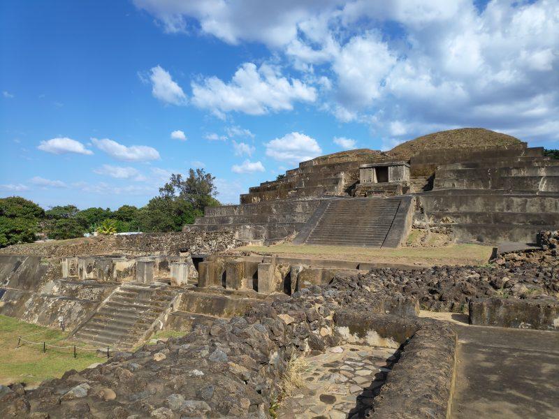 Les ruines de Tazumal au Salvador