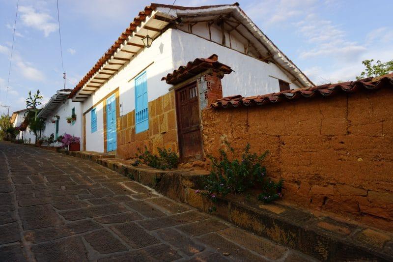 Maison en terre de Barichara