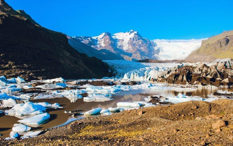 Vatnajökull en Islande