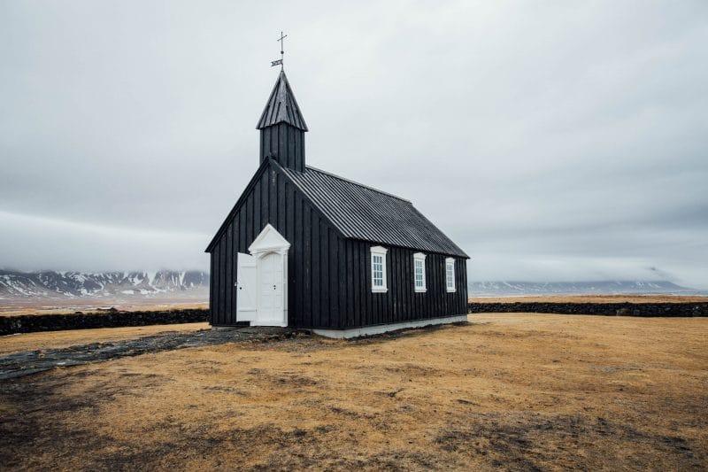 église Snaefellsnes Islande