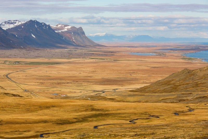 paysage Snaefellsnes Islande