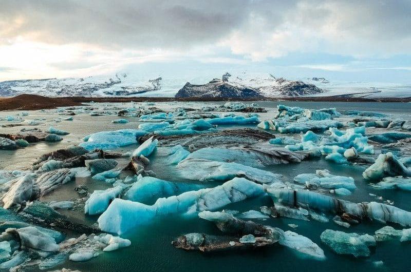 Jökulsárlón lac glaciers islande