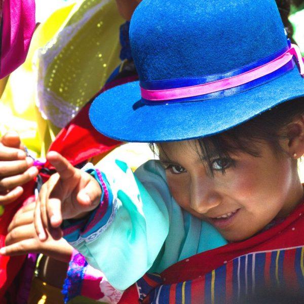 Petite fille au Chili
