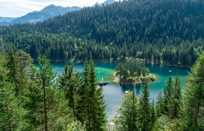 Les Grisons en Suisse - lac