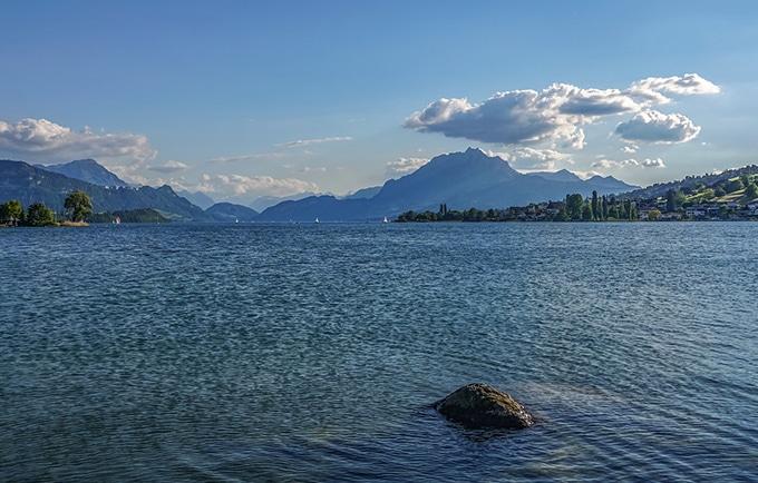 Lac des 4 cantons en Suisse