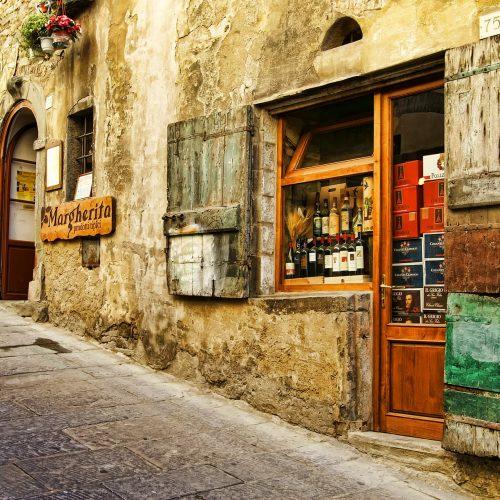 Dans les rues d'Italie