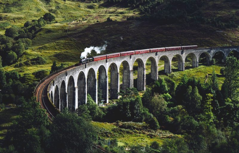 Viaduc Glenfinnan Harry Potter, Ecosse, Royaume Uni