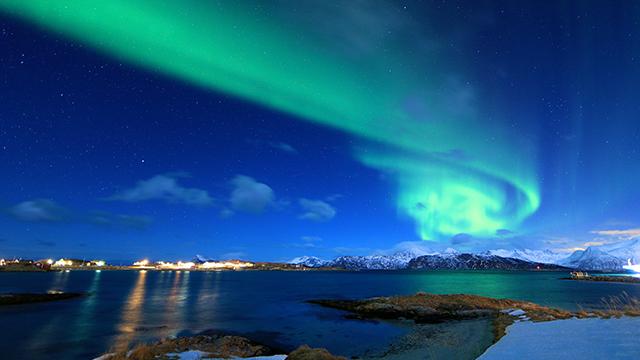voyager en Norvège en hiver