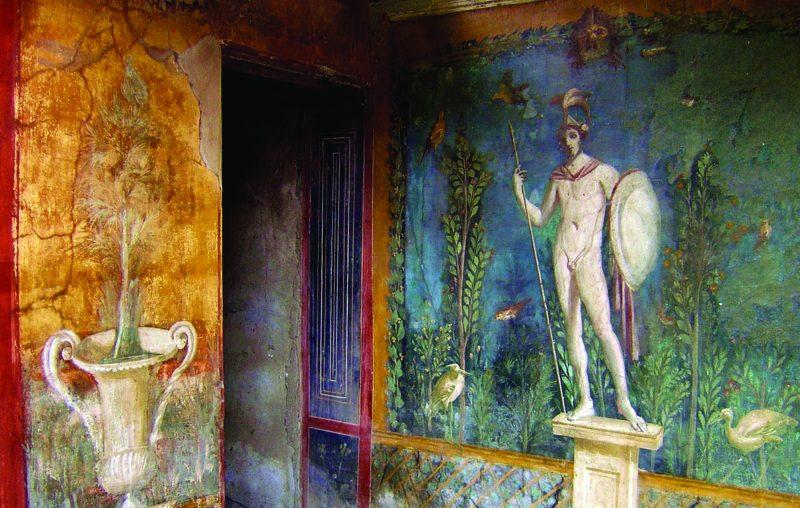 Pompei, ville ensevelie lors de l'éruption du Vésuve