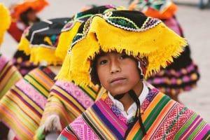 Enfant péruvien