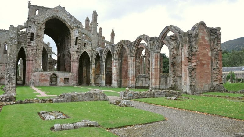 abbaye de Melrose
