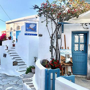 séjour dans les Cyclades