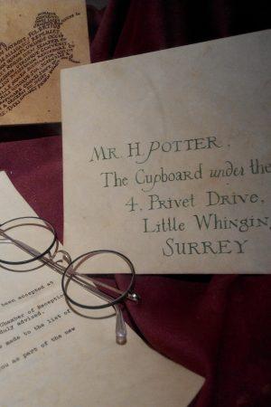 Harry Potter, lettre pour Poudlard
