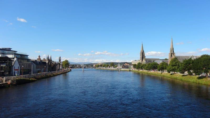 Inverness en Ecosse, Claire et Jamie, lieu de tournage en Ecosse