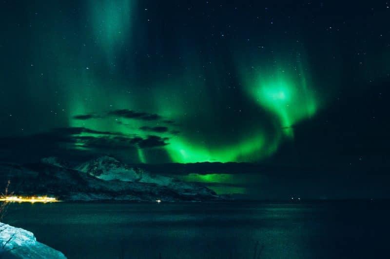 aurores boréales en Ecosse