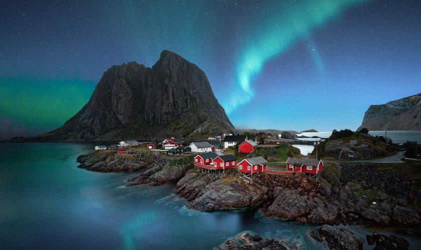 aurores boréales Lofoten
