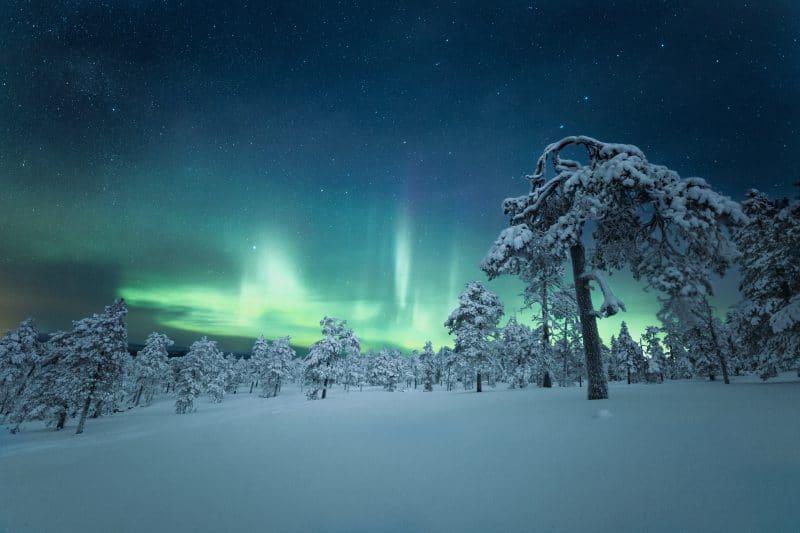 Laponie en Finlande