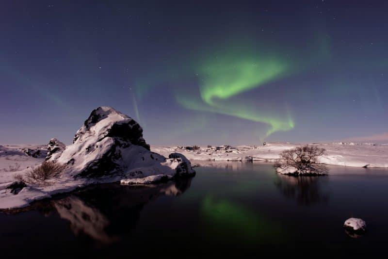 Lac Mývatn en Islande