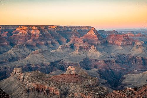 Grand Canyon aux Etats-Unis
