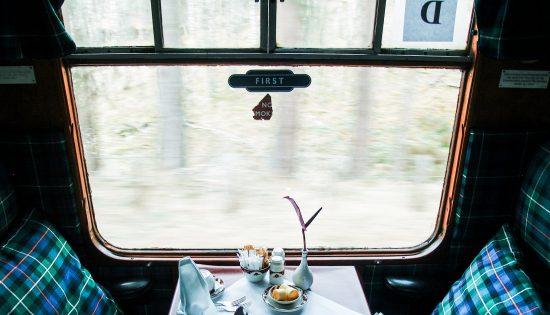 L'Ecosse en train
