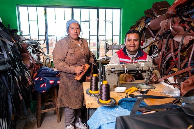 Fabrique artisanale en Bolivie