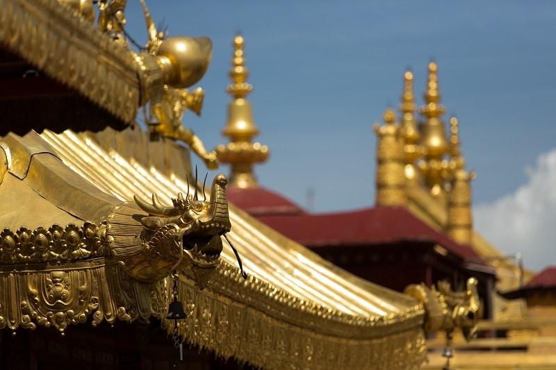 Lieu incontournable Tibet : temple Jokhang